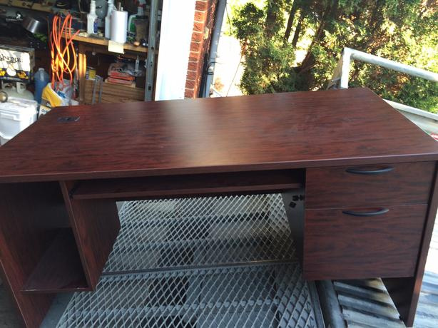 Almost new, solid wood professional quality desk