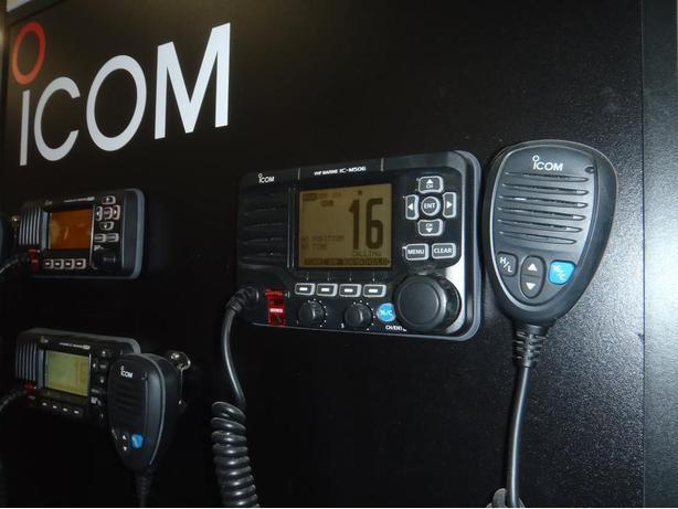 ICOM IC-M506 MARINE VHF BASE STATION, 25W VHF TRANCEIVER