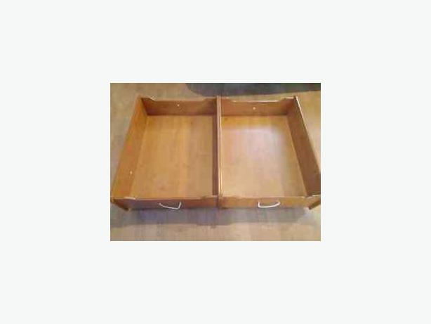 2 Rolling Storage Containers (Train table)