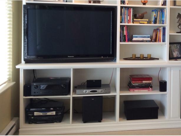 """46"""" Panasonic plasma TV & Surround Sound system"""