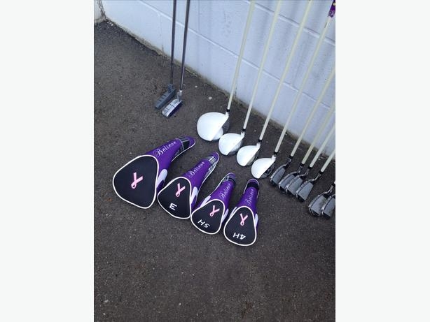 Ladies full set Founders golf clubs RH