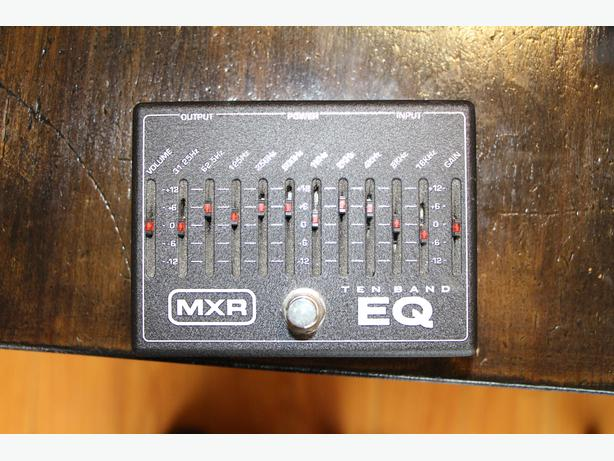MXR EQ Guitar Pedal - 10 Band