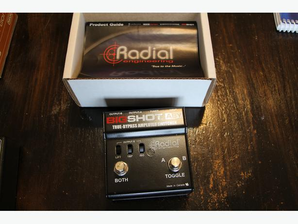 Radial Big Shot ABY Guitar Pedal