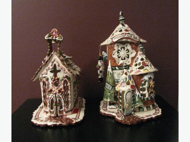 Christmas Clayworks by Heather Goldminc