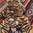 Various Beanie Baby toys (Tiger, Sledge, Baby Tiger, Polar)
