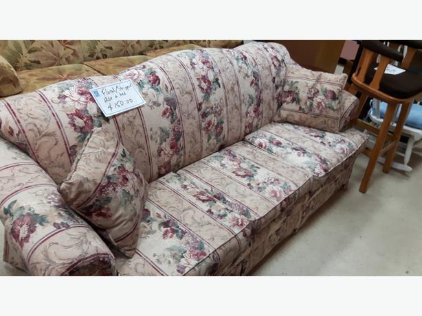 was 125 3 seat hide a bed couch for sale at st vincent de paul in langford west shore langford. Black Bedroom Furniture Sets. Home Design Ideas