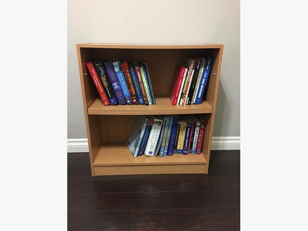 Small laminate shelving unit