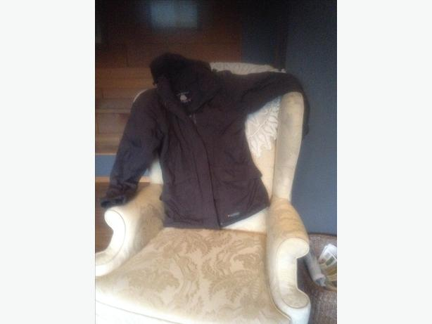 Black Misty Mountain Outerware Jacket
