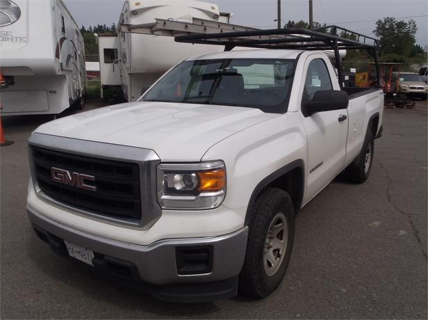 2014 GMC Sierra 1500 Regular Cab Long Bed 4WD with Ladder Rack