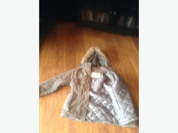 Size SMALL ladies warm winter jacket