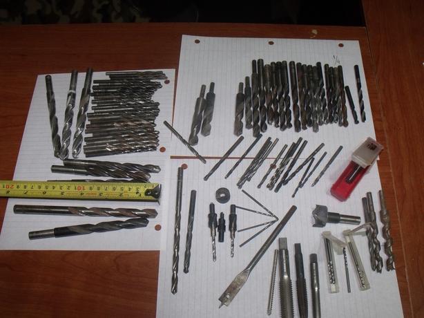 90 drill bits /taps/countersink set/sharp/metal/endmill