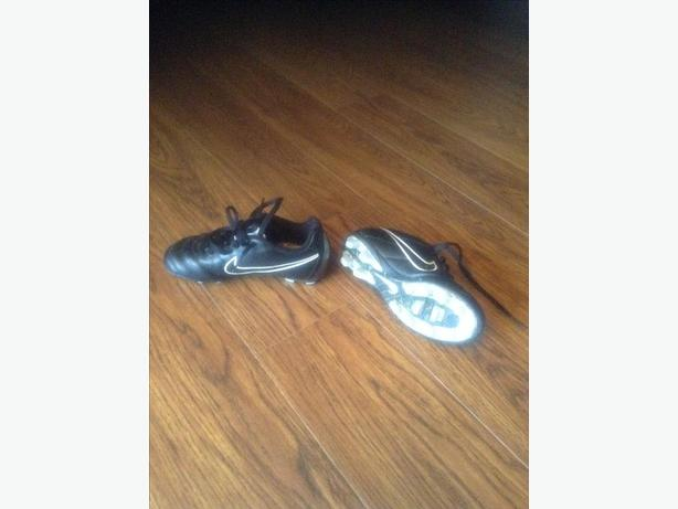 Size 12 soccer shoes by  Nike