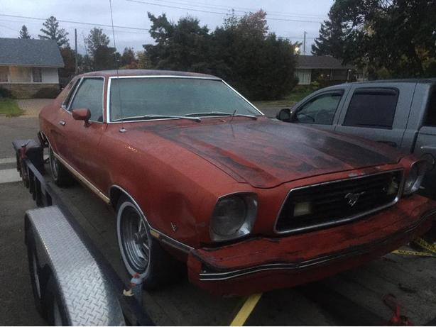 Parting out 1978 Mustang II