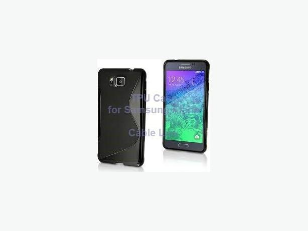 TPU Case Cover Skin For Samsung Galaxy Alpha