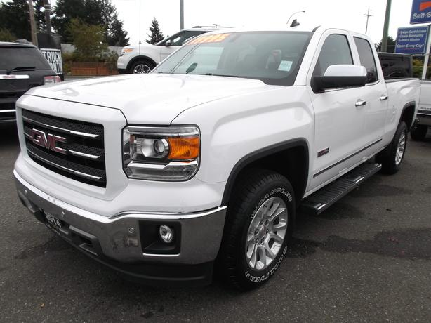 2014 gmc sierra crew cab slt all terrain 4x4 for sale outside okanagan kelowna. Black Bedroom Furniture Sets. Home Design Ideas