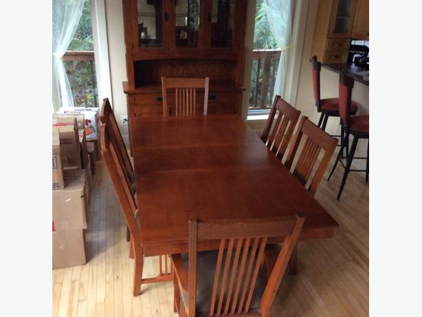 Mission dining room suite OBO