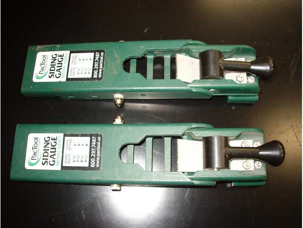 "Pactool ""Gecko"" Siding Gauge Set"