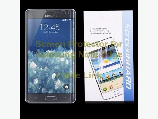 Ultra Thin Clear Screen Protector Film Guard for Samsung Galaxy Note Edge N915