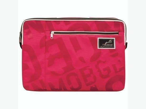 "GOLLA DALLAS Laptop Sling Sleeve Bag 16"" with Shoulder Strap - Pink"