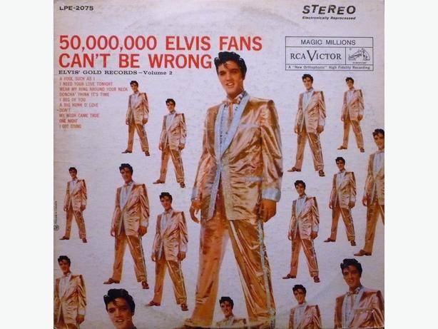 Elvis Gold Records Compilations