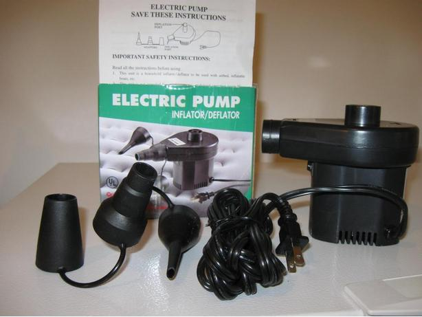 Electric Air Pump Inflator/Deflator