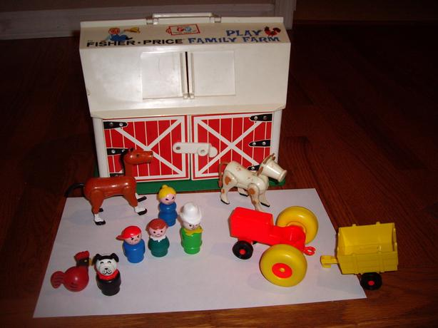 FISHER PRICE TOY BARN