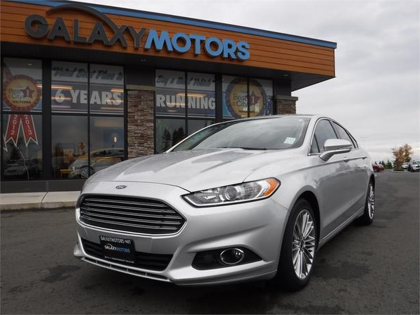 2013 Ford Fusion SE - Leather Int, Navigation, SYNC