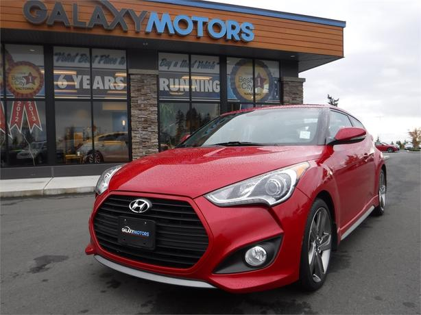2013 Hyundai Veloster Turbo - Leather Int, Navigation, Alloy Wheels