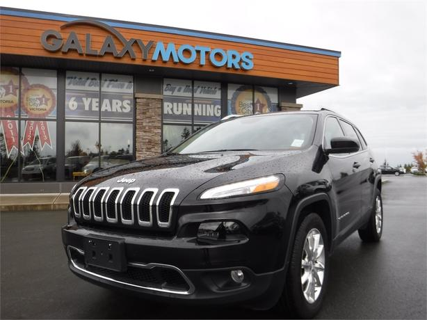2015 Jeep Cherokee Limited - 4WD, Leather Int, Navigation