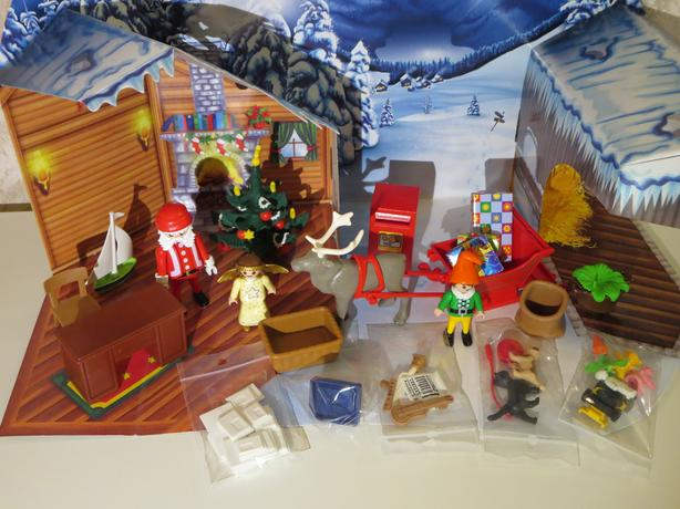 Playmobil christmas post office advent calendar 4161 for Playmobil post