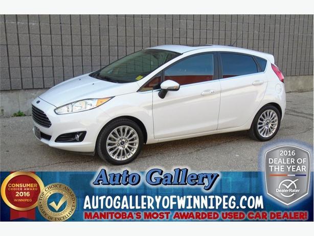 2014 Ford Fiesta Titanium *Lthr/Nav