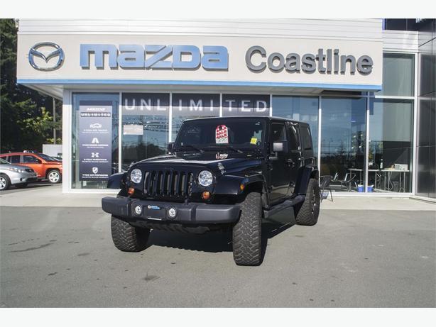 2012 Jeep Wrangler Unlimited Sahara 4X4   HEATED SEATS