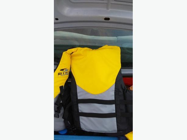 Men's Fluid PDF (Life Jacket) Florescent Yellow