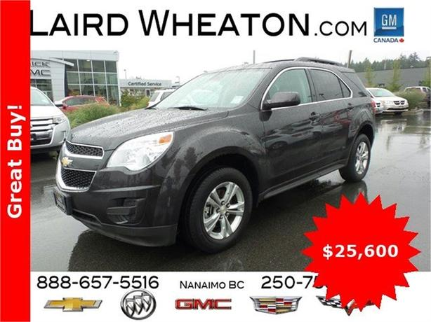 2015 Chevrolet Equinox LT AWD w/ Back-Up Camera and WiFi Hotspot