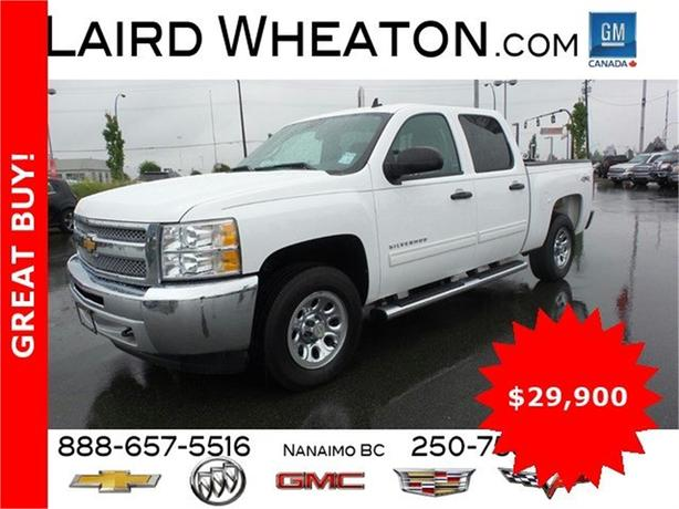 2013 Chevrolet Silverado 1500 LT AWD w/ Bluetooth