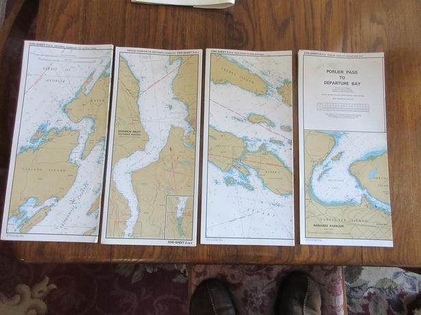 GULF ISLAND CHARTS