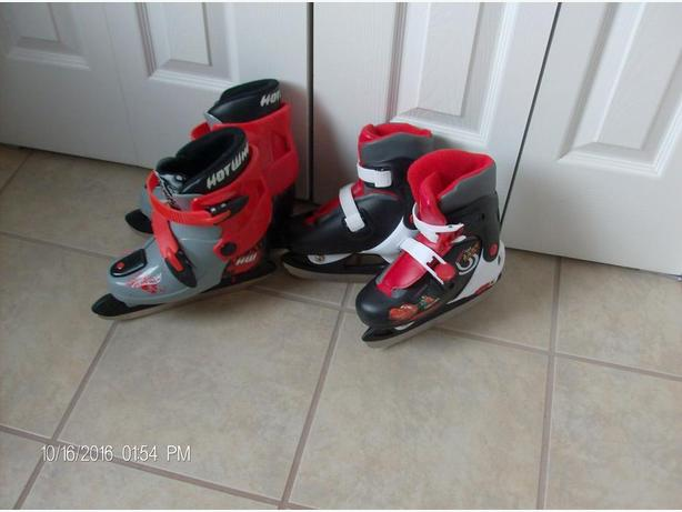 REDUCED      ICE SKATING SKATES OR HOCKEY SKATES