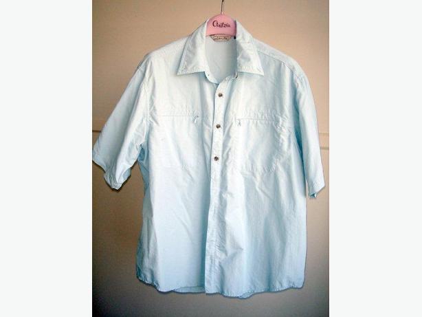 Pro Cam-Fis - Soft Blue Short Sleeve Shirt
