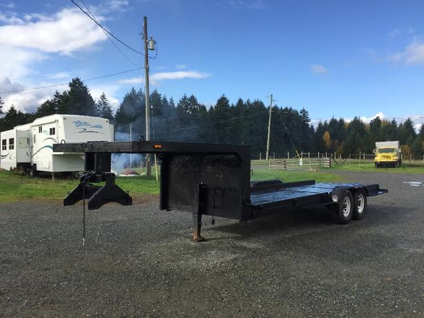 1999  28 ft Gooseneck (pin)Trailer for sale