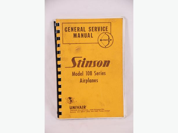 Assorted vintage aircraft manuals & books $29ea