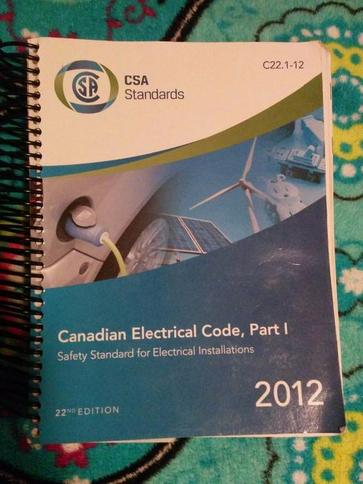 Canadian Electrical Code : Canadian electrical code book west shore langford colwood