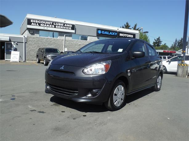 2015 Mitsubishi Mirage ES - Bluetooth, Accident Free, NEW Tires