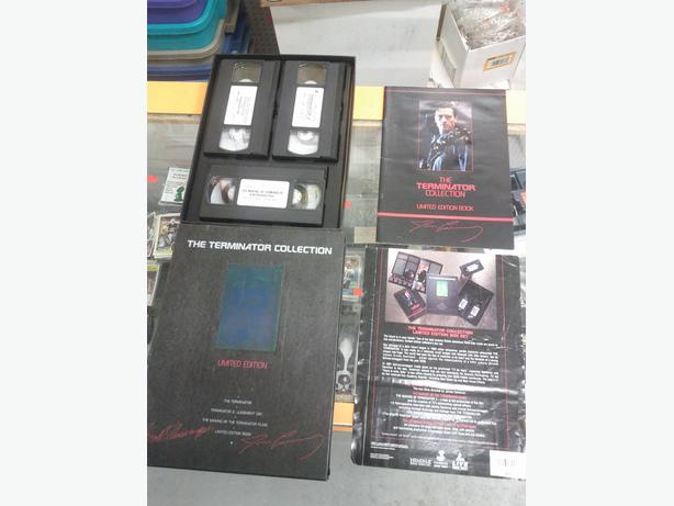 The Terminator VHS Collection