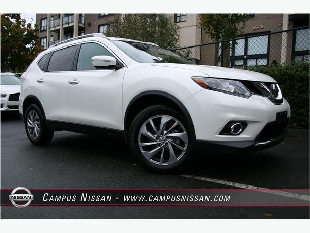 2015 Nissan Rogue SL AWD Leather