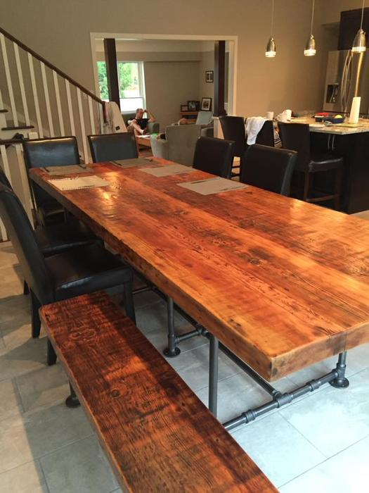 Reclaimed Wood Furniture Vancouver Island