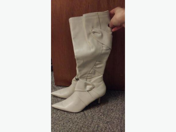 Ivory boots