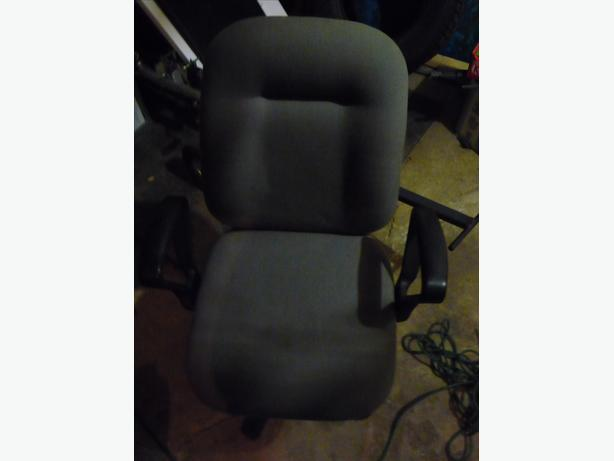 Adjustable computer/office chair with gas lift