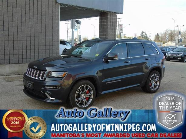 2014 Jeep Grand Cherokee SRT 8*Lthr/4x4/Nav/