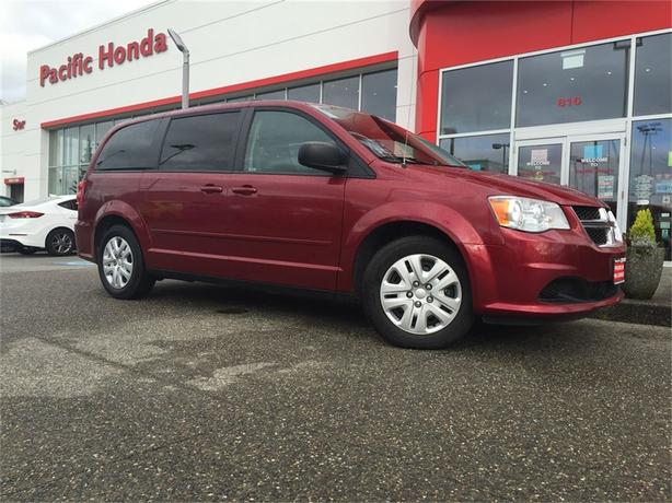 2014 Dodge Grand Caravan SXT - DUAL STOW N GOS AND NO ICBC CLAIMS