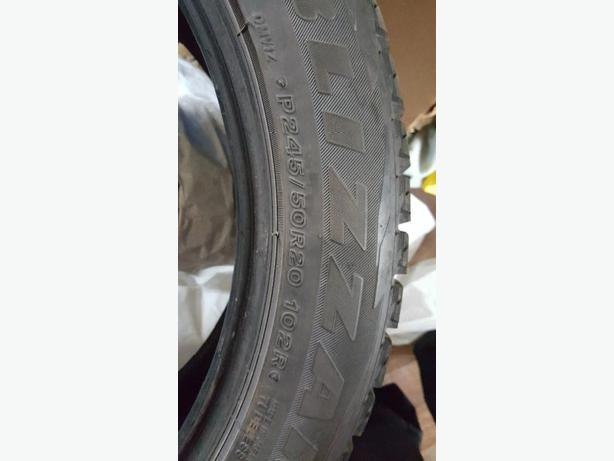 winter  tires 245-50-20""